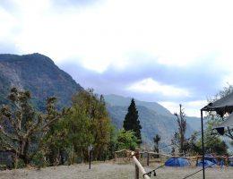 Overlooking Valley